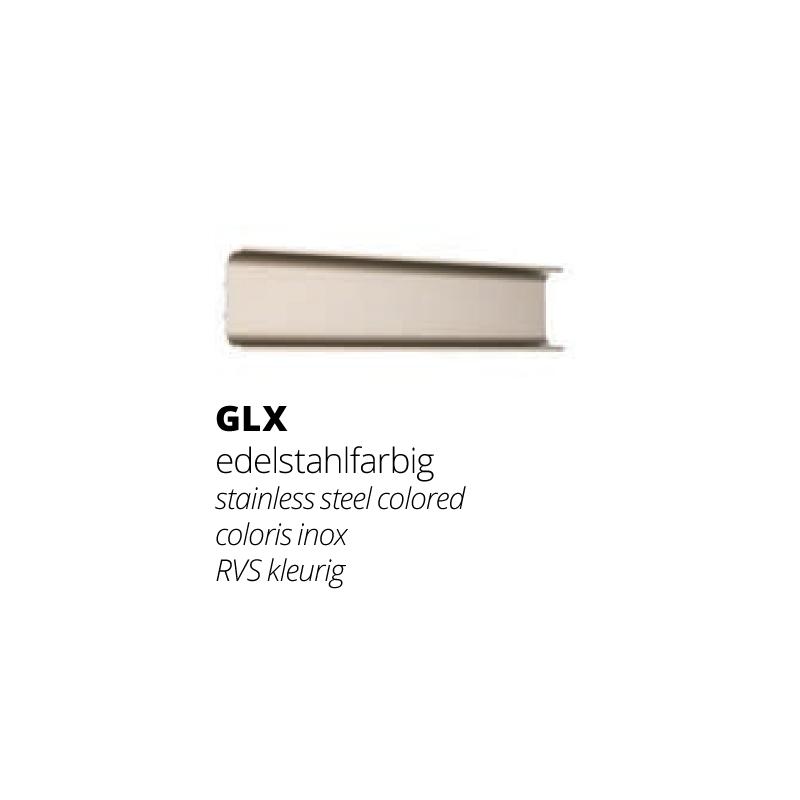 GLX - Edelstahlfarbig